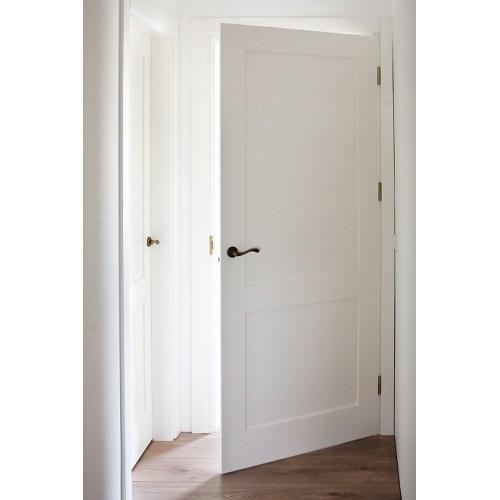 Filinginės vidaus durys dažytos