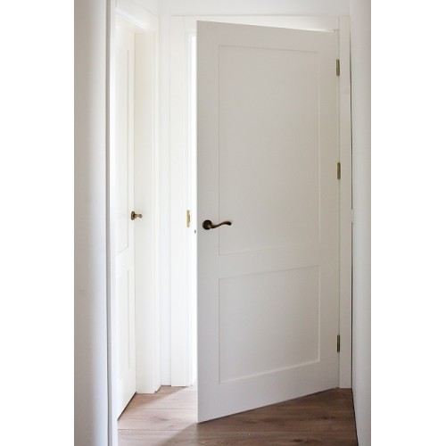 Interior doors with fillings